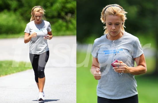 Pictures of Kate Gosselin Running