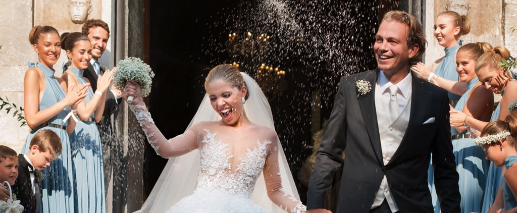 This Swarovski Heiress's Million-Dollar Wedding Dress Shines Brighter Than a Diamond