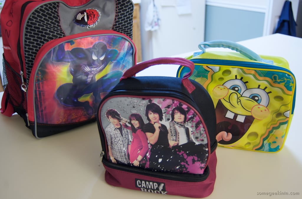 Buy a new backpack/first-day outfit/lunch bag together.