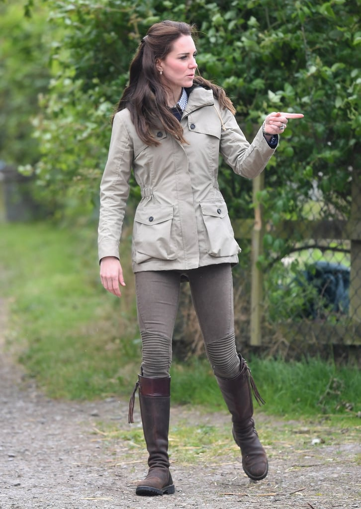 Kate Middleton Stayed Warm in Her Troy London Wax Parka