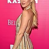 Oct. 19: She hit the red carpet for the Big Apple premiere of her film Rock the Kasbah.