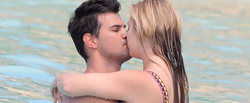 Billie Lourd and Taylor Lautner in St. Barts Photos 2017