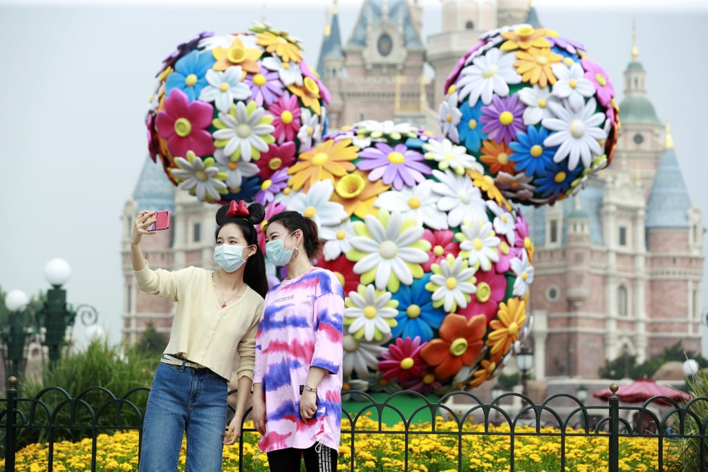 Pictures of Shanghai Disneyland Reopening After Coronavirus