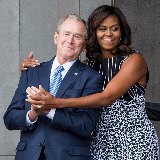 George W Bush's Quotes on Michelle Obama