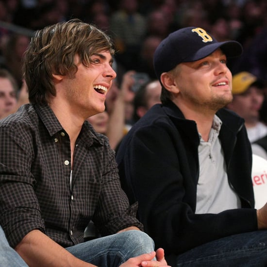 Zac Efron's Throwback Photo With Leonardo DiCaprio 2017