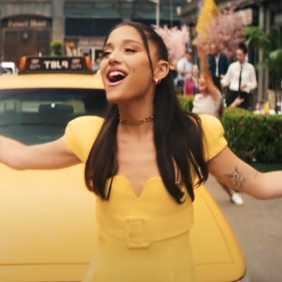 Ariana Grande's Yellow Versace Outfit With James Corden