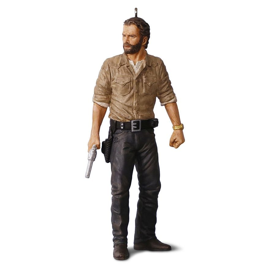 The Walking Dead Rick Grimes Ornament ($18)