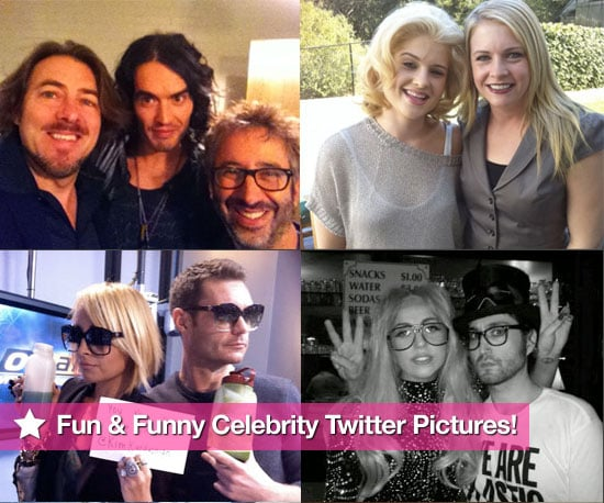 Pictures of Ryan Seacrest, Nicole Richie, Lady Gaga, Russell Brand, Kim Kardashian Twitter Pictures