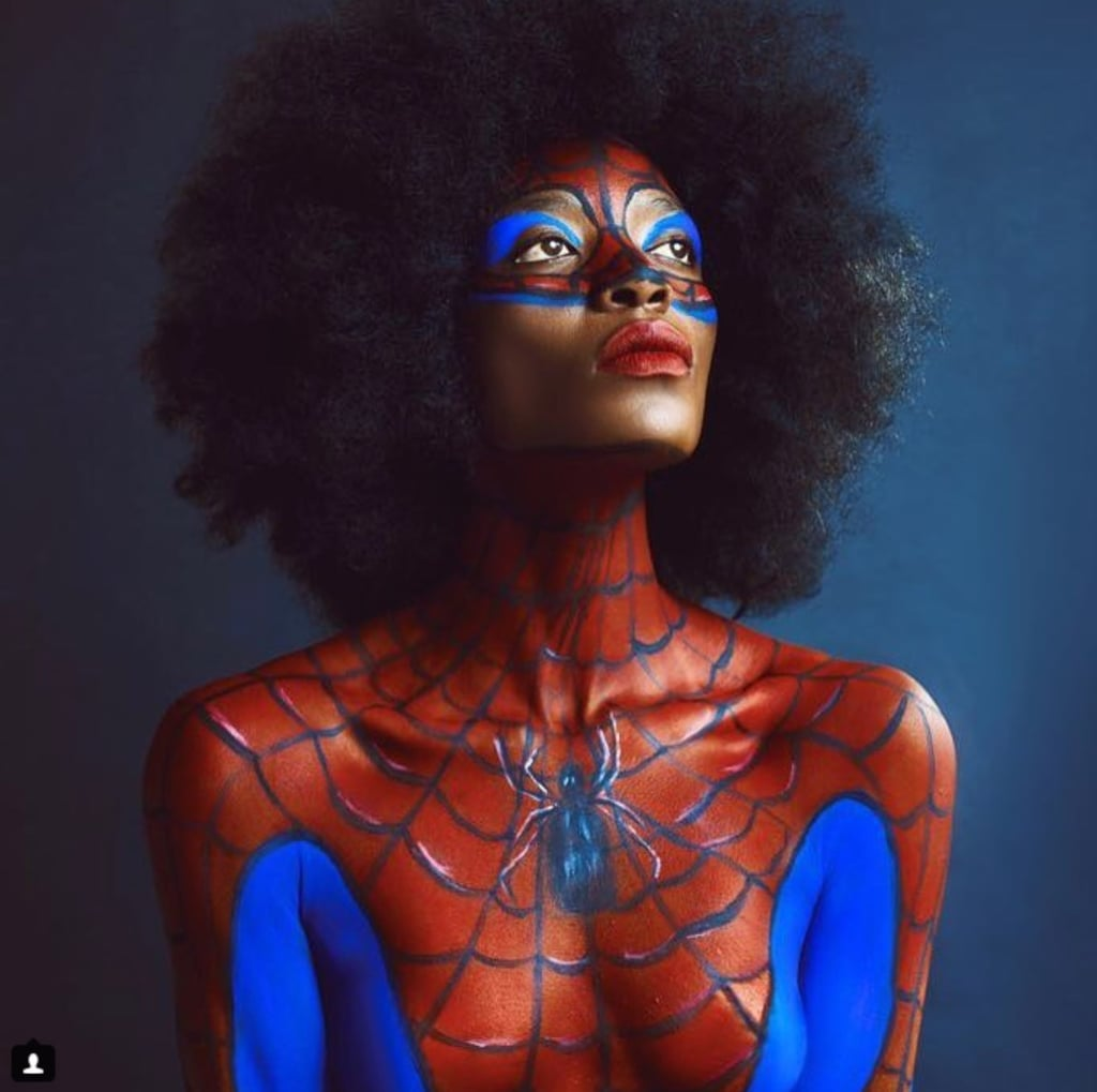 Cast Your Web With These 17 Spider-Woman Makeup Ideas