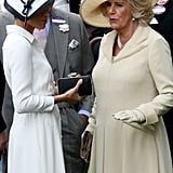 In fact, the two were rarely seen apart during at the racecourse.