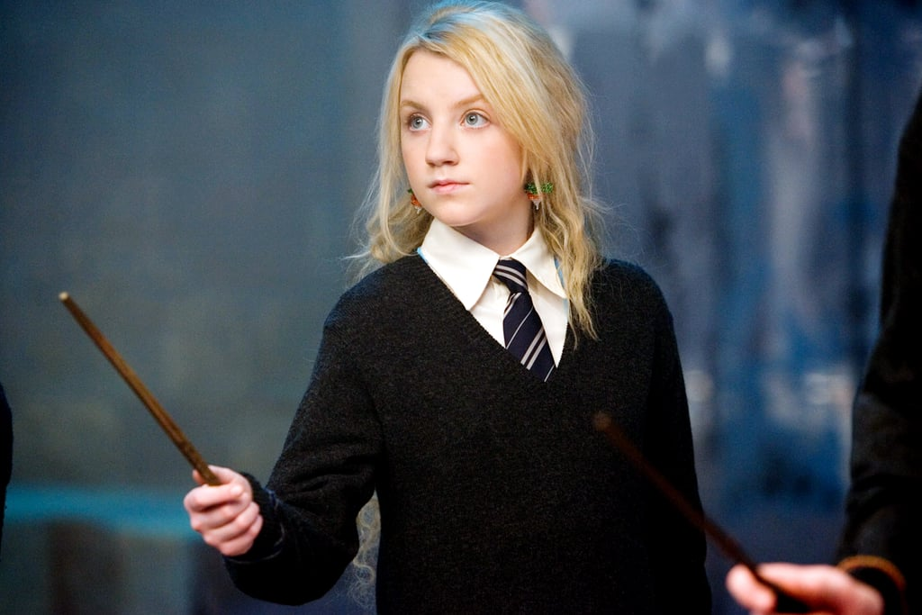 """It's been a long time since Evanna Lynch said goodbye to Harry Potter, but the franchise is still near and dear to her heart. During her appearance on Dancing With the Stars this season, the Irish actress given a handful of sweet nods to the magical films. In addition to getting the support of her former co-stars during the show, she even danced to the Harry Potter theme song as she recounted her most memorable year. While Lynch is, of course, so much more than just Luna Lovegood, she is still incredibly grateful to have that as her legacy.  """"I'm so proud to be part of that universe,"""" she told POPSUGAR. While she admitted there is always a pressure when you complete a big franchise to re-establish yourself and move on, for her it's been about merging those two worlds. """"For me, Dancing With the Stars has been a perfect example of merging it,"""" she added. """"I'm showing different sides of myself and performing and being myself, but I also get to pay respect to the Harry Potter series."""" Not only was the franchise a huge part of her career, but it was also a huge part of her personal life. """"I read those books when I was eight years old and I continue to read them,"""" she said. Additionally, some of her former co-stars are still her closest friends to this day. Scarlett Byrne, who played Pansy Parkinson in the films, even joined her for a special performance on DWTS this season. """"It's a huge part of me, so I'm not going to pretend it's not,"""" Lynch said about the films. """"I want to embrace that it is a big part of my life, but it's not the whole picture."""" See some of her most memorable moments as Luna ahead."""