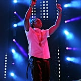 Jay Z danced on stage.