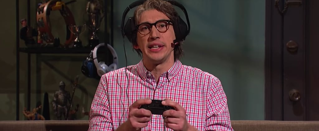 Adam Driver Fortnite Sketch Saturday Night Live 2018