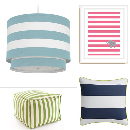 Striped Decor For Charming Nursery Style