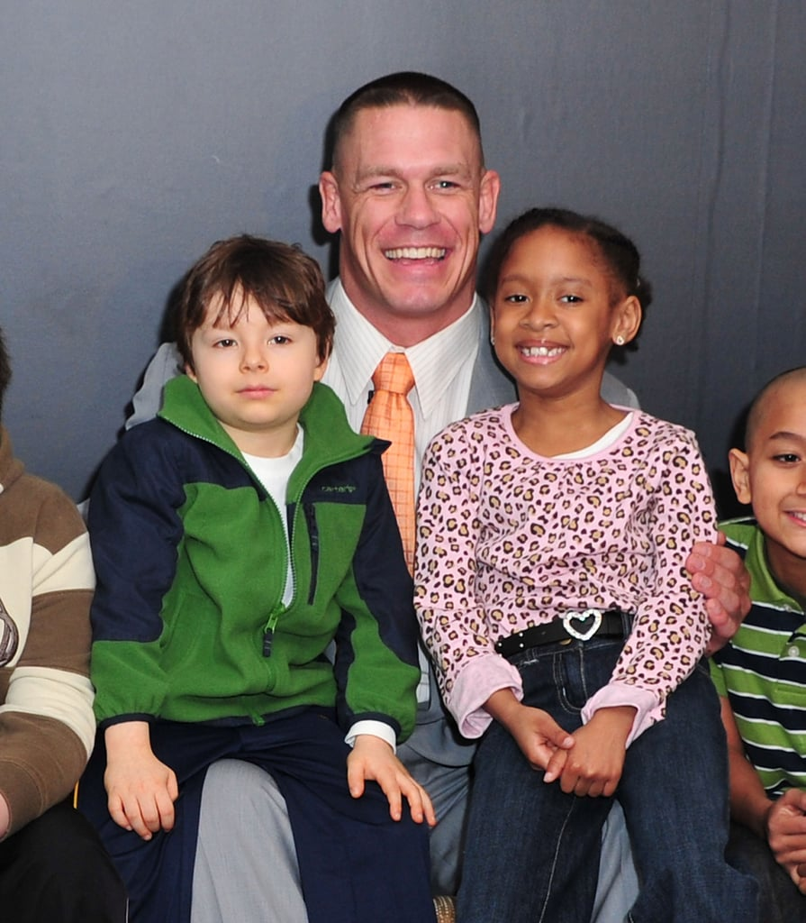Throughout his time in the spotlight, John Cena has shared a slew of adorable moments with kids. In addition to holding the title for the most wishes granted by a celebrity for the Make-a-Wish Foundation, the WWE wrestler always makes sure to show children extra love during meet-and-greets and appearances, giving us yet another reason to love him. Prepare to smile until your cheeks hurt at the cutest moments John has shared with kids.