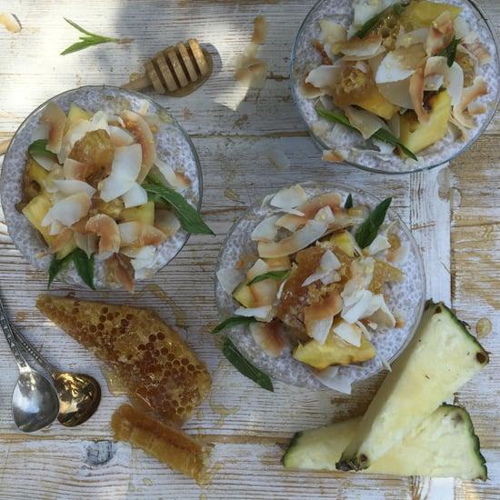 Paleo Pina Colada Chia Pudding Recipe