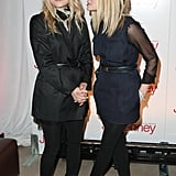 Short, sheer and sleeved; it's an Olsen trifecta!
