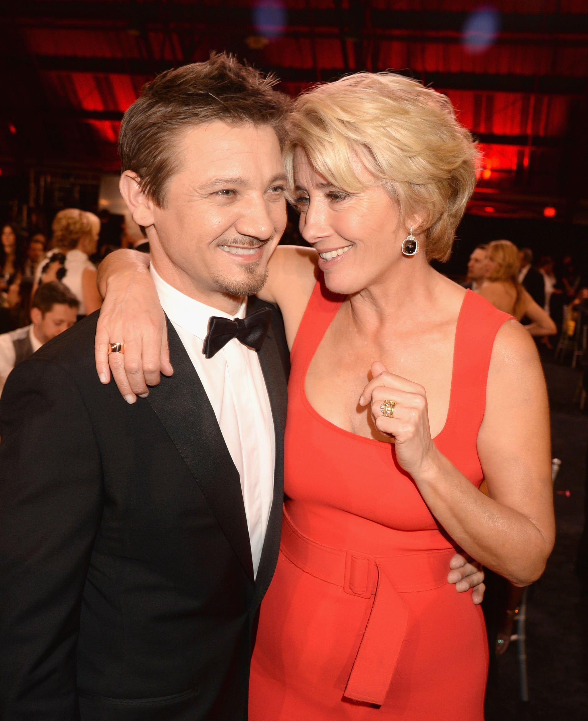 And Jeremy Renner . . .