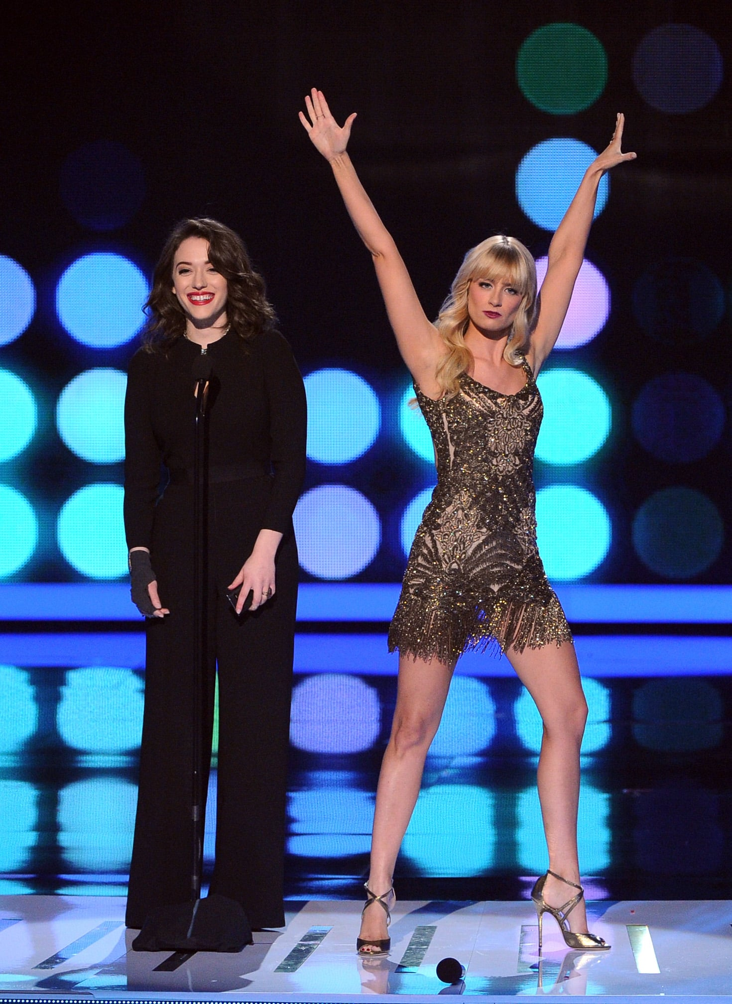 "Beth Behrs dropped the mic after twerking and rapping to ""Baby Got Back."""
