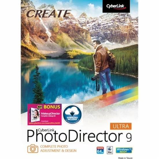 PhotoDirector 9 Ultra For Mac and Windows