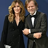 William H. Macy and Felicity Huffman at the 2018 Emmys