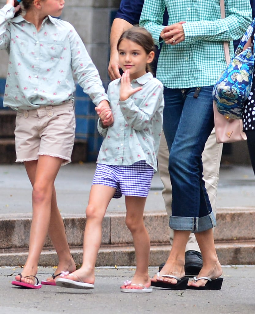 Watch Suri Cruise gets her own zoo for the day video
