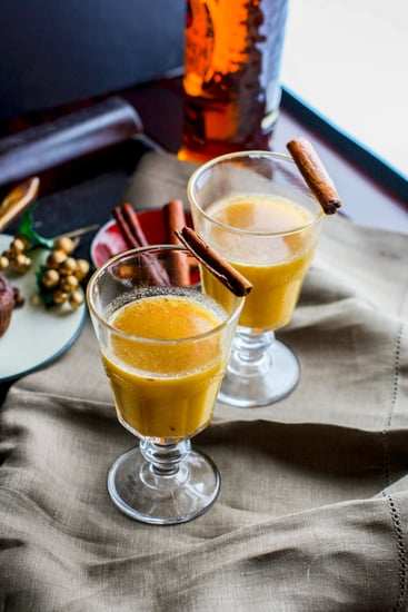 Spiced Pineapple Rum Hot Toddy
