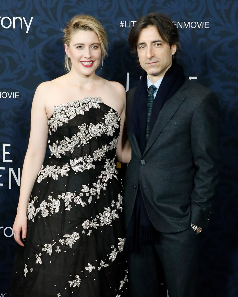 Pictured: Greta Gerwig and Noah Baumbach at the Little Women world premiere.