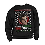 """Louis Theroux """"Dashing Theroux The Snow"""" Christmas Jumper"""