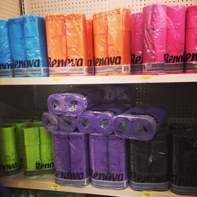 Because We All Need Colorful, Scented Toilet Paper