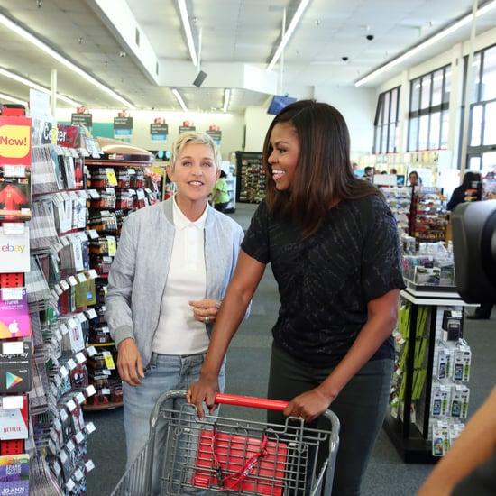 Michelle Obama and Ellen DeGeneres Go to CVS Video