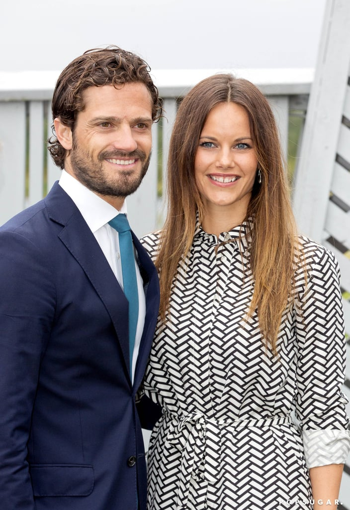 Prince Carl Philip and Princess Sofia of Sweden were all smiles when they stopped by a children's vegetable garden during their two-day visit to Värmland on Thursday. The royal couple made their way to Mariebergsskogen park, where they spent time with kids and posed for pictures. At one point, Princess Sofia knelt down to chat with a group of children, lighting up as she talked to them. Keep reading for all the best pictures of their trip, then look back at their stunning royal wedding from this past June and see all their sweetest moments together!
