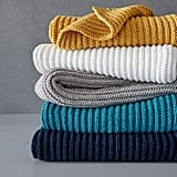 West Elm Chenille Rib Throw