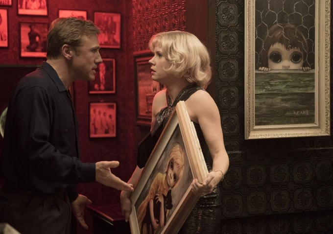 Tim Burton Unveils the Retro Look For Latest Leading Lady Amy Adams