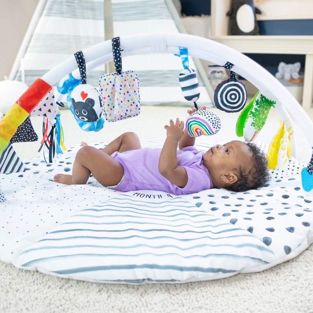 For Infants: Sassy Tummy Time Milestone Activity Gym