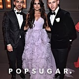 Pictured: Joe Jonas, Demi Lovato, and Nick Jonas