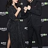 Pictured: Natalie Martinez and Matt Lauria