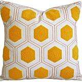 Bed Bath & Beyond Nostalgia Home™ Ally Square Throw Pillow ($50)