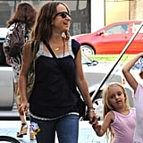 Jennifer Meyer and Ruby Maguire go to ballet.