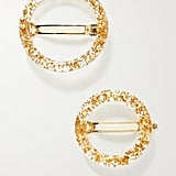 Cult Gaia Ria Set of Two Acrylic Hair Clips ($205)