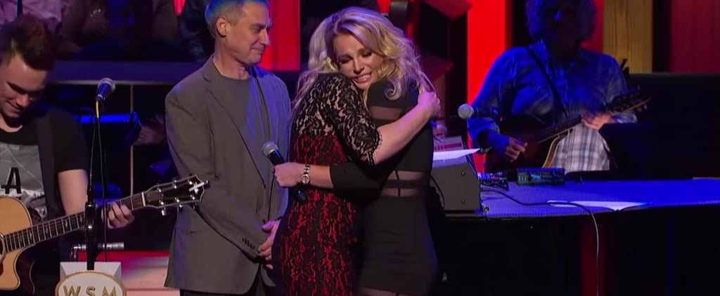 Britney Spears Brings Little Sister Jamie Lynn to Tears After Surprising Her at the Opry