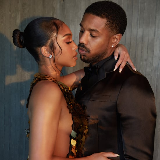 Michael B. Jordan and Lori Harvey Wear Prada For Premiere