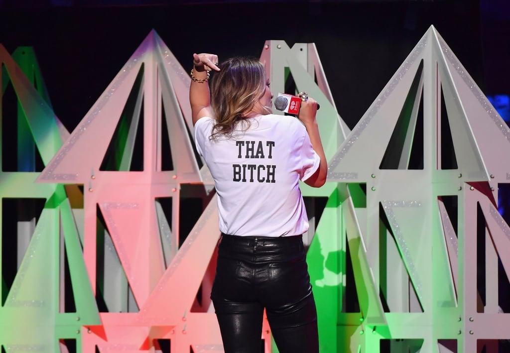 Olivia Wilde at iHeartRadio's Jingle Ball in NYC
