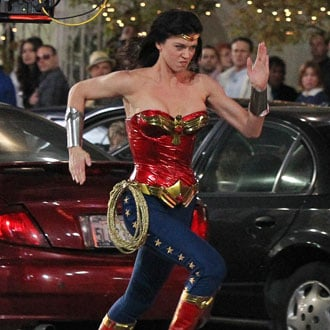 Pictures of Adrianne Palicki in New Wonder Woman Costume