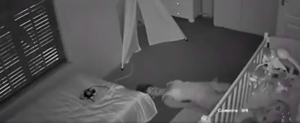 Mom Slides Out of Her Son's Nursery on Her Back After Finally Getting Him to Sleep
