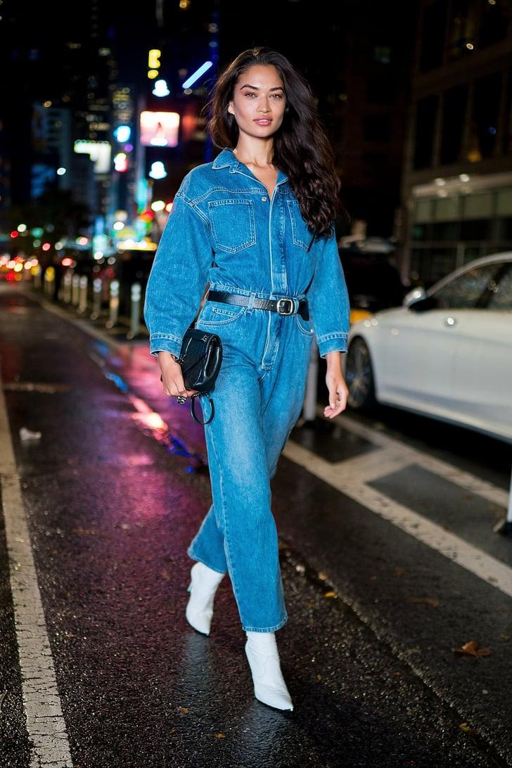 Victoria S Secret Models Street Style Popsugar Fashion