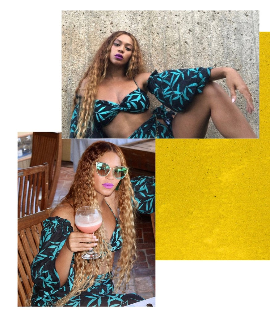 Pictures of Beyoncé Dressed as Lisa Bonet With Sir and Rumi