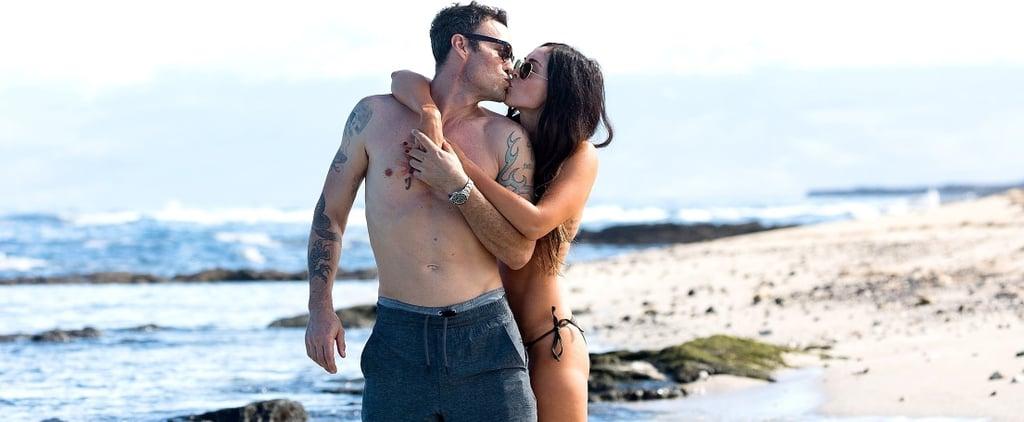 Megan Fox and Brian Austin Green Showing PDA in Hawaii