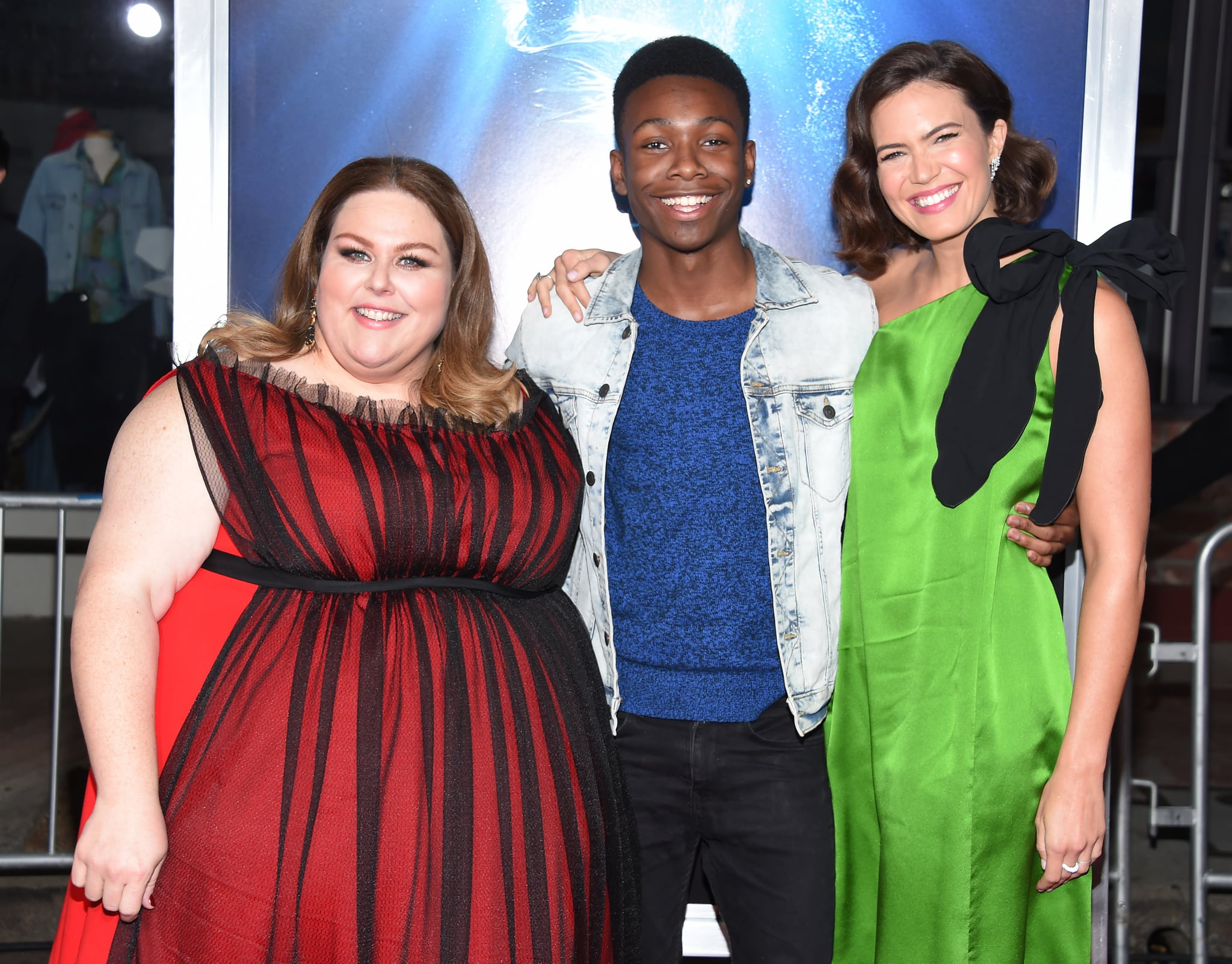 Celebrity & Entertainment | This Is Us Stars Supported