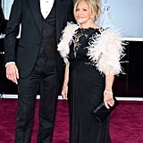 Bradley Cooper at the 2013 Oscars with his mom.